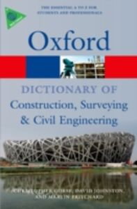 Foto Cover di Dictionary of Construction, Surveying, and Civil Engineering, Ebook inglese di AA.VV edito da OUP Oxford