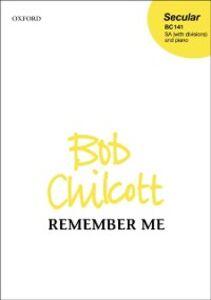 Ebook in inglese Remember me: Vocal score ZMU10530, Bob