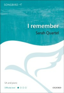 Ebook in inglese I remember: Vocal score -, -