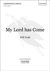 My Lord has Come: Vocal score