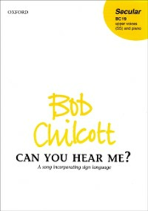 Ebook in inglese Can you hear me?: Vocal score -, -