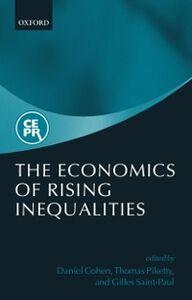 Foto Cover di Economics of Rising Inequalities, Ebook inglese di  edito da OUP Oxford