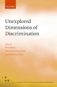 Ebook in inglese Unexplored Dimensions of Discrimination -, -