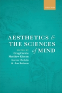 Ebook in inglese Aesthetics and the Sciences of Mind -, -