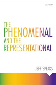Ebook in inglese Phenomenal and the Representational Speaks, Jeff