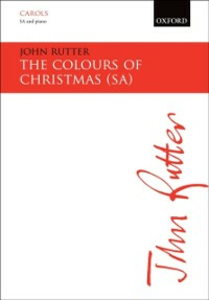 Ebook in inglese Colours of Christmas: SA vocal score ZMU10510, John
