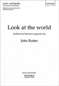 Ebook in inglese Look at the world: Vocal score ZMU1052, MU10520 , ZMU10520, John