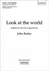 Look at the world: Vocal score