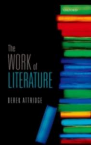 Ebook in inglese Work of Literature Attridge, Derek