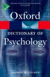 Ebook in inglese Dictionary of Psychology Colman, Andrew M.