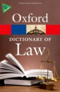 Ebook in inglese Dictionary of Law -, -