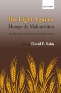 Foto Cover di Fight Against Hunger and Malnutrition: The Role of Food, Agriculture, and Targeted Policies, Ebook inglese di  edito da OUP Oxford