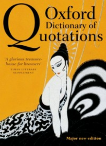 Ebook in inglese Oxford Dictionary of Quotations 8e -, -