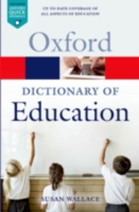 Ebook in inglese Dictionary of Education Wallace, Susan