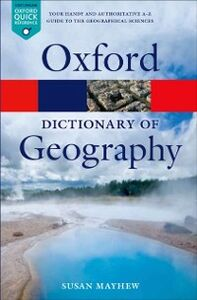 Ebook in inglese Dictionary of Geography Mayhew, Susan