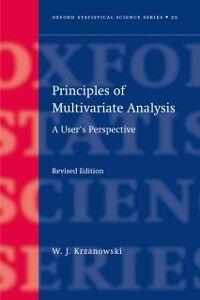 Foto Cover di Principles of Multivariate Analysis, Ebook inglese di Wojtek Krzanowski, edito da OUP Oxford