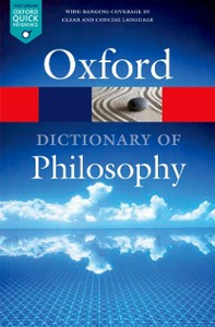 Ebook in inglese Oxford Dictionary of Philosophy Blackburn, Simon