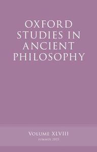 Ebook in inglese Oxford Studies in Ancient Philosophy, Volume 48 -, -