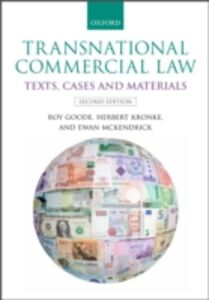Foto Cover di Transnational Commercial Law: Texts, Cases and Materials, Ebook inglese di AA.VV edito da OUP Oxford