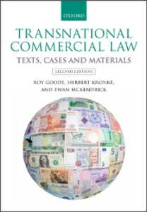 Ebook in inglese Transnational Commercial Law: Texts, Cases and Materials Goode, Roy , Kronke, Herbert , McKendrick, Ewan