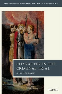 Ebook in inglese Character in the Criminal Trial Redmayne, Mike