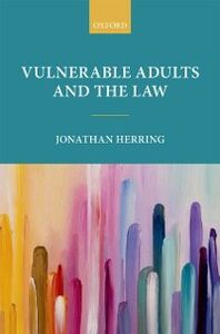 Ebook in inglese Vulnerable Adults and the Law Herring, Jonathan