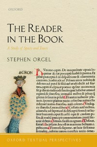 Ebook in inglese Reader in the Book: A Study of Spaces and Traces Orgel, Stephen