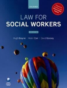 Ebook in inglese Law for Social Workers Brayne, Hugh , Carr, Helen , Goosey, David
