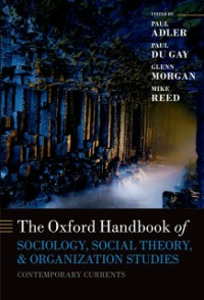 Ebook in inglese Oxford Handbook of Sociology, Social Theory and Organization Studies: Contemporary Currents -, -