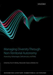 Ebook in inglese Managing Diversity through Non-Territorial Autonomy: Assessing Advantages, Deficiencies, and Risks -, -