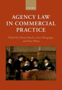 Ebook in inglese Agency Law in Commercial Practice