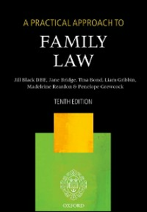 Ebook in inglese Practical Approach to Family Law Black DBE, The Right Honourable Lady Justice Jill , Bond, Tina , Bridge, Jane , Grewcock, Penelope