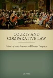 Ebook in inglese Courts and Comparative Law