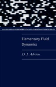 Ebook in inglese Elementary Fluid Dynamics Acheson, D. J.