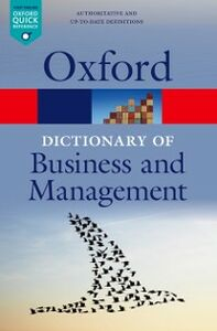 Ebook in inglese Dictionary of Business and Management -, -