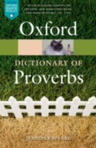 Foto Cover di Oxford Dictionary of Proverbs, Ebook inglese di  edito da OUP Oxford