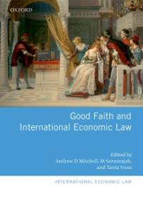 Ebook in inglese Good Faith and International Economic Law -, -