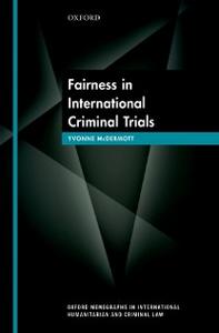 Ebook in inglese Fairness in International Criminal Trials McDermott, Yvonne