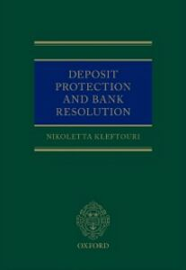 Ebook in inglese Deposit Protection and Bank Resolution Kleftouri, Nikoletta