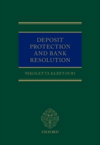 Ebook in inglese Deposit Protection and Bank Resolution Kleftouri, Nikoletta