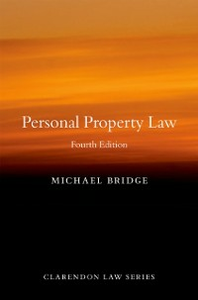 Ebook in inglese Personal Property Law Bridge, Michael