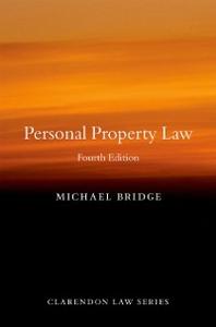 Ebook in inglese Personal Property Law Bridge, Michael