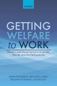 Foto Cover di Getting Welfare to Work: Street-Level Governance in Australia, the UK, and the Netherlands, Ebook inglese di AA.VV edito da OUP Oxford