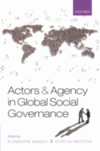 Foto Cover di Actors and Agency in Global Social Governance, Ebook inglese di  edito da OUP Oxford