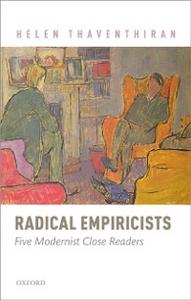 Ebook in inglese Radical Empiricists: Five Modernist Close Readers Thaventhiran, Helen