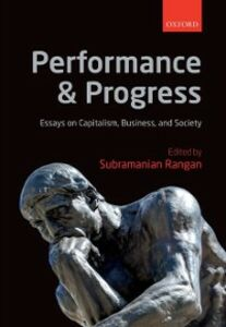 Ebook in inglese Performance and Progress: Essays on Capitalism, Business, and Society