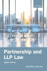 Ebook in inglese Partnership and LLP Law 8e Morse, Geoffrey