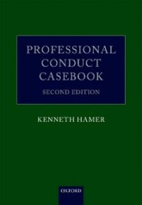 Foto Cover di Professional Conduct Casebook, Ebook inglese di Kenneth Hamer, edito da OUP Oxford