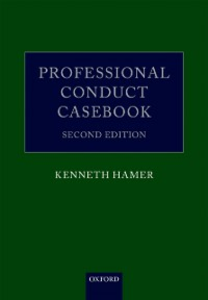 Ebook in inglese Professional Conduct Casebook Hamer, Kenneth