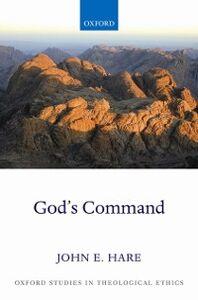 Foto Cover di Gods Command, Ebook inglese di John E. Hare, edito da OUP Oxford